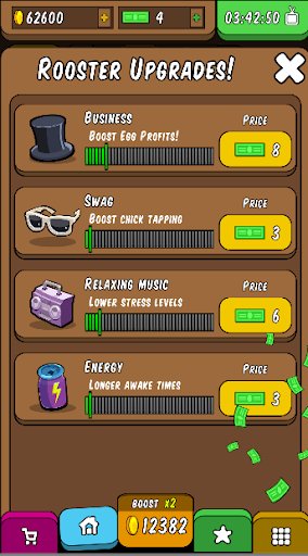 Rooster Booster - Idle Chicken Clicker 1.0 screenshots 8