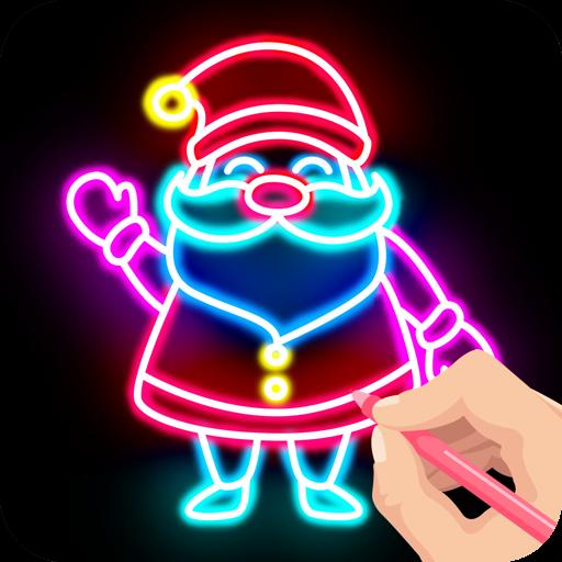 Baixar Draw Glow Christmas 2021 para Android