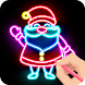 Draw Glow Christmas 2021 - Androidアプリ