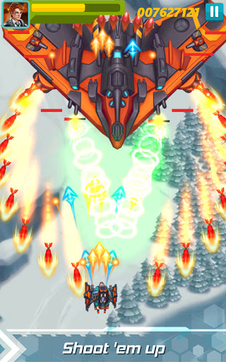 Sky Raptor: Space Shooter - Alien Galaxy Attack  screenshots 7