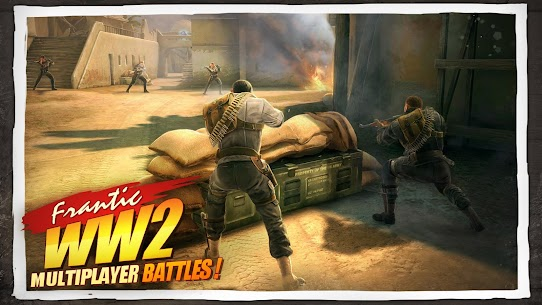 Download Brothers in Arms the popular war game of Brothers War 3 Android + data 1