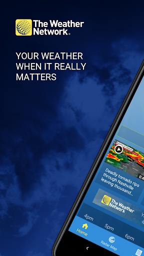 The Weather Network: Local Forecasts & Radar Maps screenshots 1