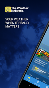 The Weather Network: Local Forecasts & Radar Maps – Mod + Data for Android 1
