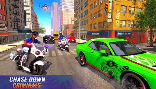 US Police Bike 2020 - Gangster Chase Simulator 3.0 Screenshots 1