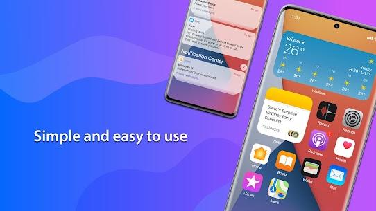Launcher iPhone MOD APK (Premium Unlocked) 2