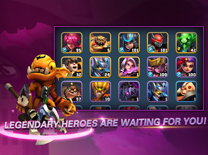 Heroes Brawl: Monster Clash - Defense Zombies 1.0.0 Screenshots 14