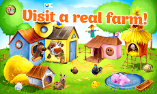 Animal Farm for Kids. Toddler games.のおすすめ画像1