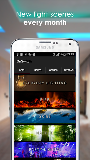 OnSwitch for Philips Hue Lights