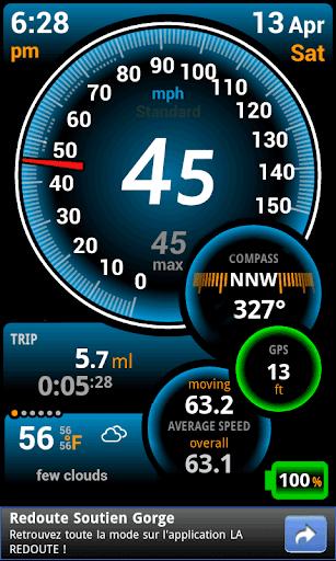 Ulysse Speedometer  Screenshots 1