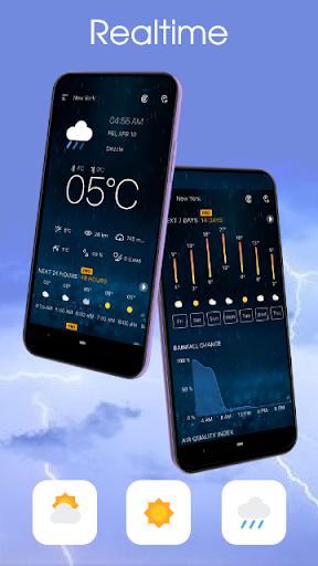 Weather forecast - Weather & Weather radar  screenshots 2