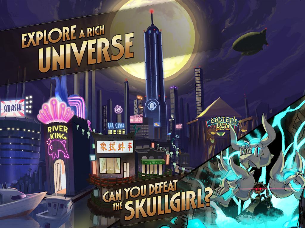 Skullgirls: Fighting RPG  poster 17