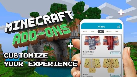 Add-ons for minecraft pe, mcpe MOD APK (Premium Unlock) Download 4