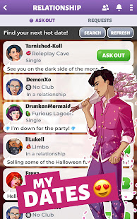 Party in my Dorm: College Life Roleplay Chat Game 6.30 screenshots 3