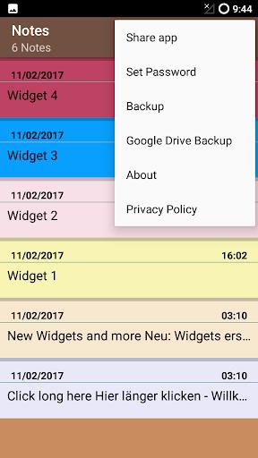 Notes app Android apktram screenshots 3