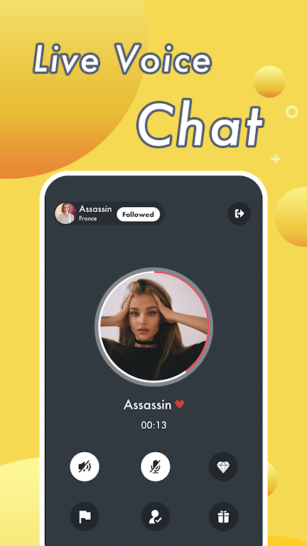 Vimo - Video Chat Strangers & Live Voice Talk  poster 4