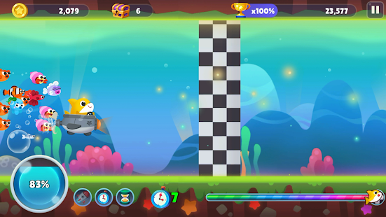 Baby Shark Run Away Screenshot
