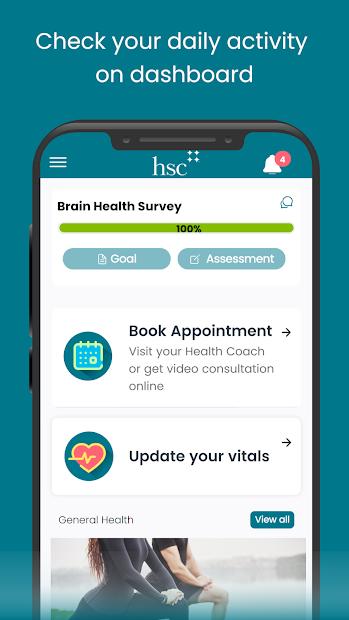 BrainHealth App screenshot 2
