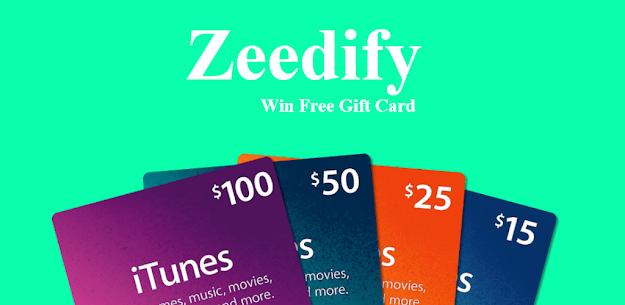 Zeedify Plus Free Gift Cards And Redeem Code 1