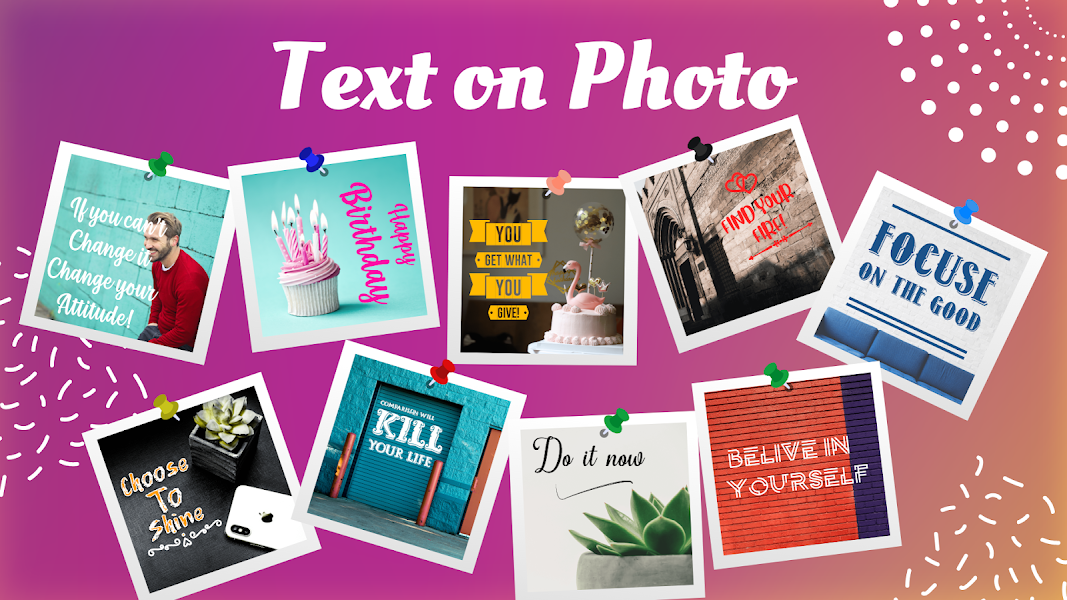 Add Text On Photo & Photo Text Editor: Texture Art