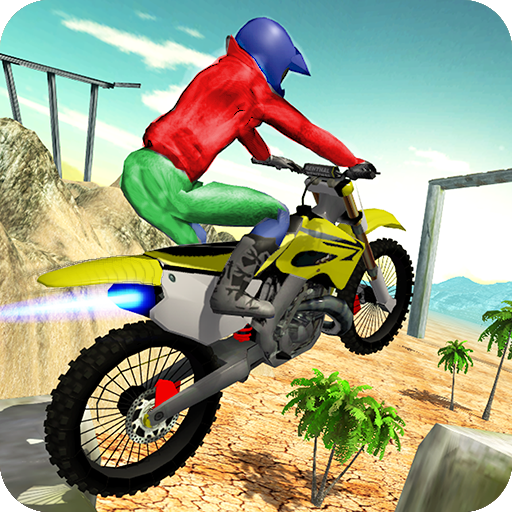 Moto Rider Hill Stunts Icon