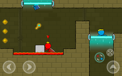 Red and Blue Stickman : Animation Parkour 1.0.6 screenshots 12