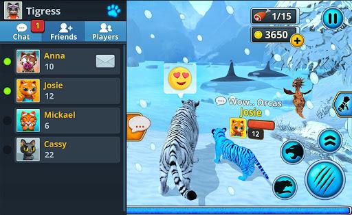 White Tiger Family Sim Online - Animal Simulator  Screenshots 8