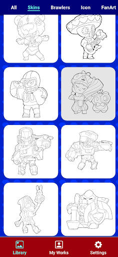 Coloring for Brawl Stars 0.27 screenshots 21