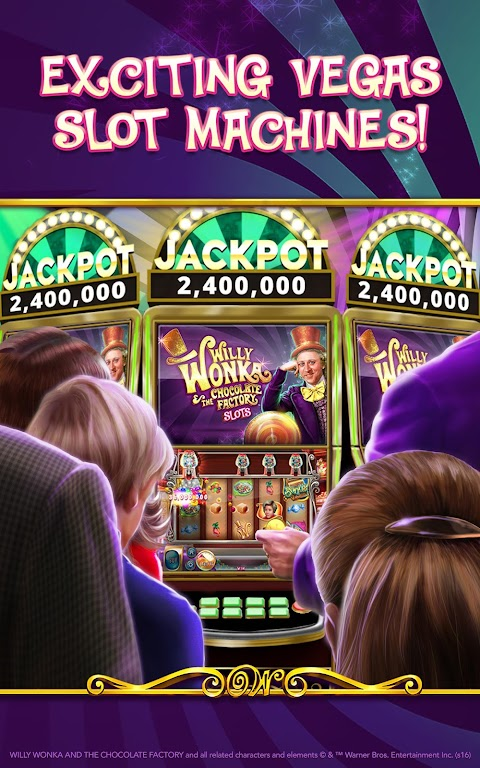 Willy Wonka Slots Free Casino  poster 12