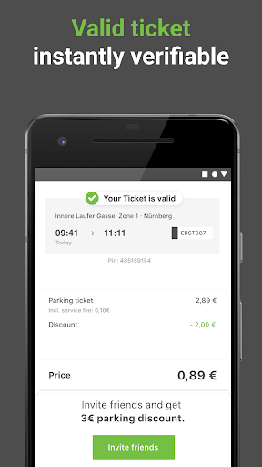 PayByPhone Parking - Park Easy Now & Smart 9.4.1 Screenshots 2
