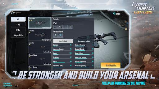 Code Triche Cyber Hunter Lite (Astuce) APK MOD screenshots 5