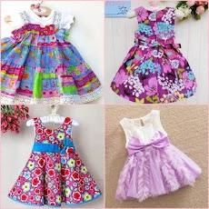 かわいい赤ちゃんの女の子のドレスのデザインのおすすめ画像3