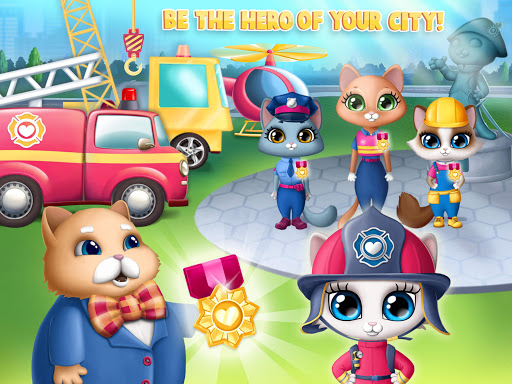 Kitty Meow Meow City Heroes - Cats to the Rescue! 4.0.21003 screenshots 24