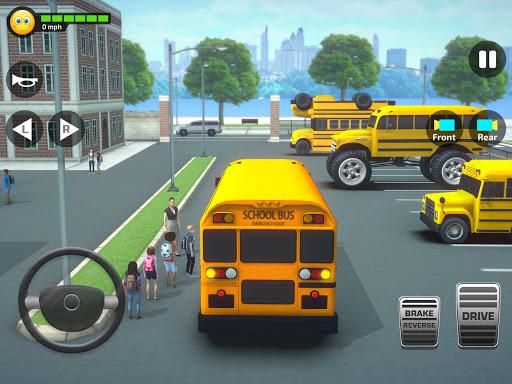 Super High School Bus Simulator und Auto Spiele 3D 2.7 screenshots 9