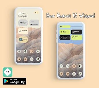 Android 12 Widgets KWGT Apk (PAID) 1