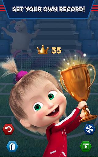 Masha and the Bear: Football Games for kids Apkfinish screenshots 13