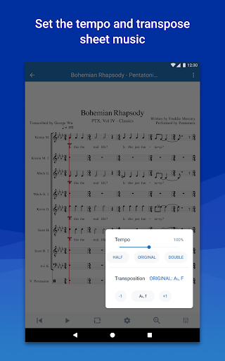 MuseScore: view and play sheet music android2mod screenshots 11