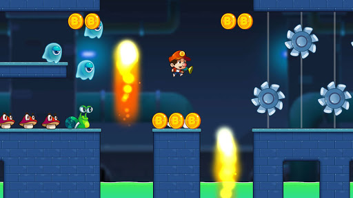 Super Jacky's World - Free Run Game 1.62 screenshots 2