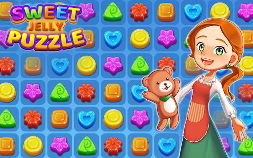 Sweet Jelly Puzzle 2021 - Match 3 Puzzle 1.5 screenshots 1