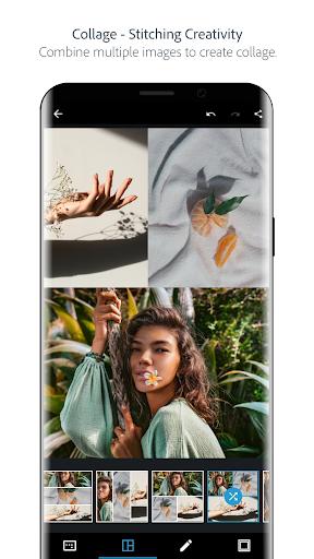 Adobe Photoshop Express:Photo Editor Collage Maker screenshots 2
