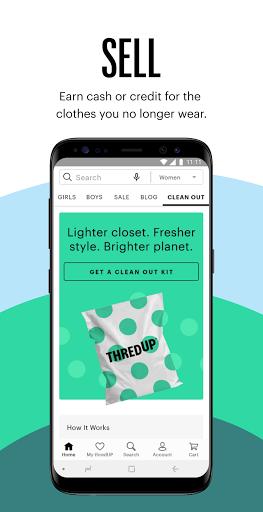 thredUP | Thrift & Sell Womenu2019s & Kidsu2019 Clothing modavailable screenshots 6