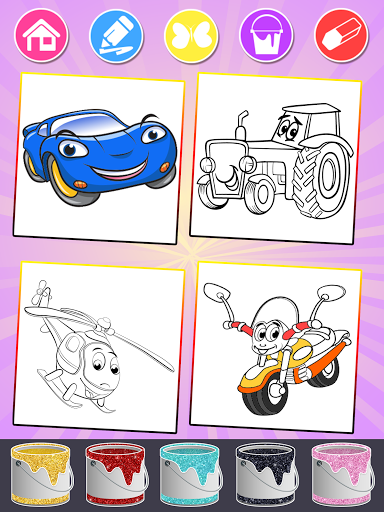 Cars Coloring Books for Kids  Screenshots 6