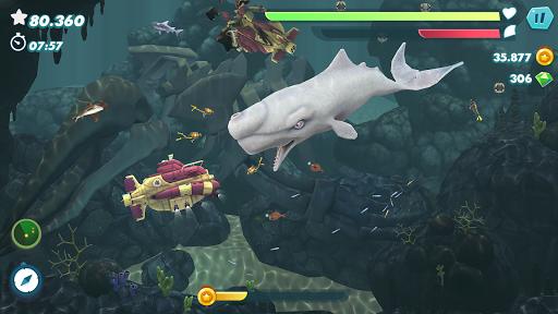 Hungry Shark Evolution screenshots apk mod 4