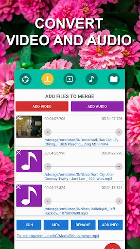 Video Editor - Music video maker & converter  screenshots 1