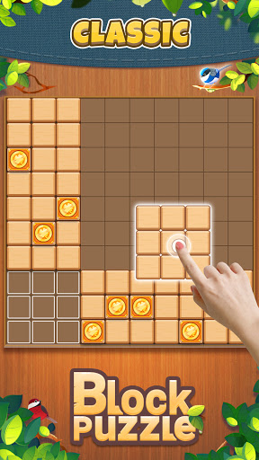 Wood Block Puzzle: Classic wood block puzzle games android2mod screenshots 17