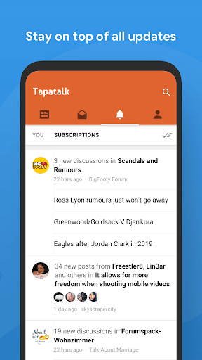 Tapatalk - 200,000+ Forums 8.8.14 Screenshots 5