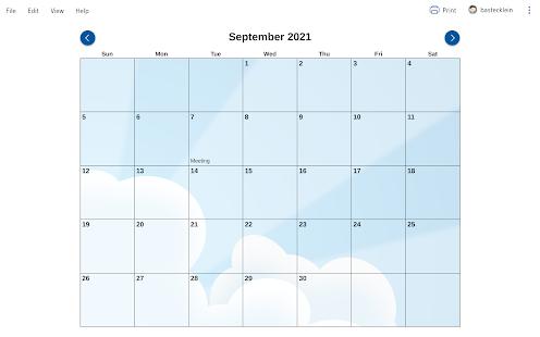 EZ Calendar Maker