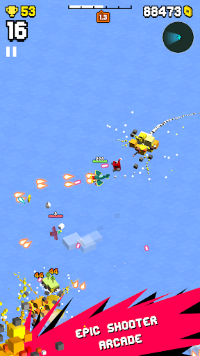 Wingy Shooters - Epic Shmups Battle in the Skies  screenshots 1