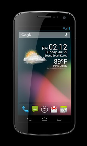 Weather Clock Widget 1.9.8.3-30 Screenshots 1