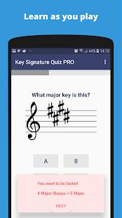 Music Theory - Key Signature Quiz