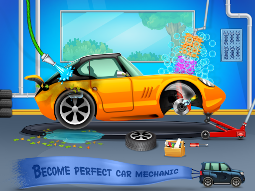 Kids Car Wash Service Auto Workshop Garage 2.1 screenshots 11